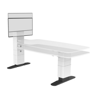 Unity Fully Height Adjustable Multimedia Conference Table
