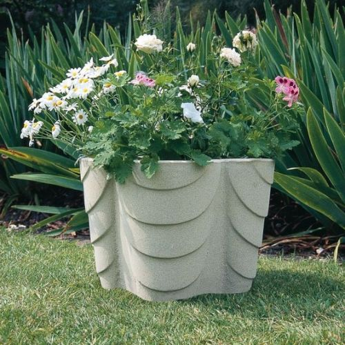 Ribboned Planter