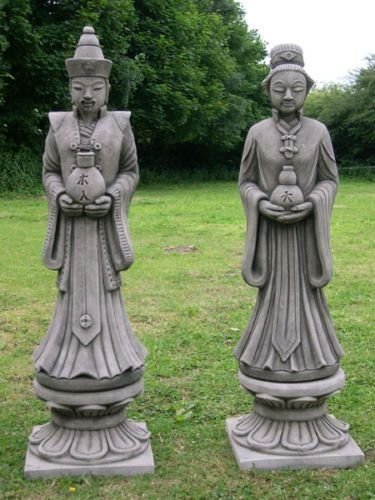 Large Oriental Statues