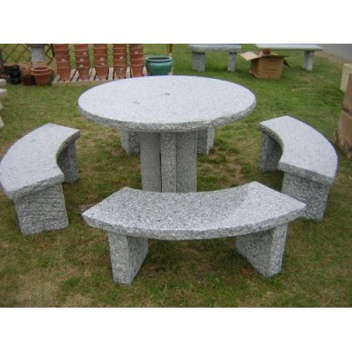 Rustic Round Table Set