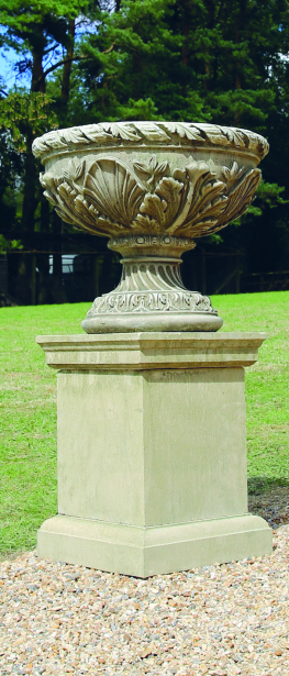 Chesterfield Urn on Plinth