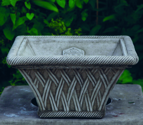 Square Basket Planter