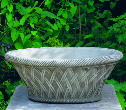 Oval Basket Planter