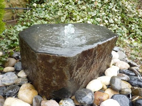 Natural Basalt Fountain