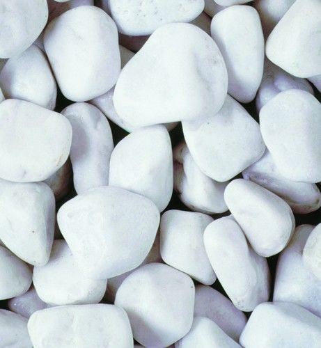 Spanish White Cobbles - 15kg