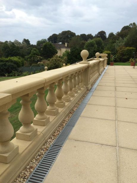 Tudor Balustrade