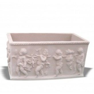 Large Cherub Trough