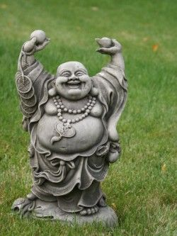 Hands Up Buddha