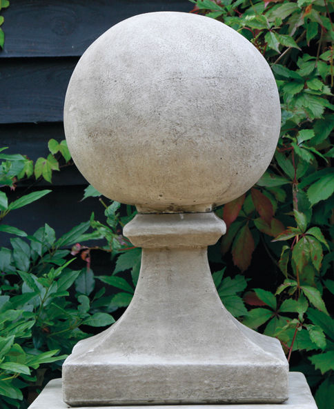 Ball Finial on Base