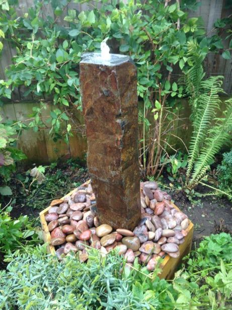 Tall Basalt  Fountain Kit