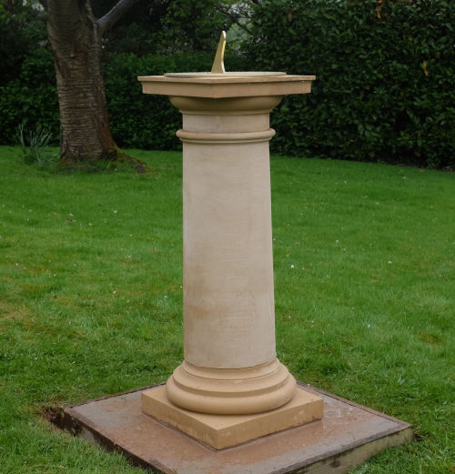 Column with Sundial