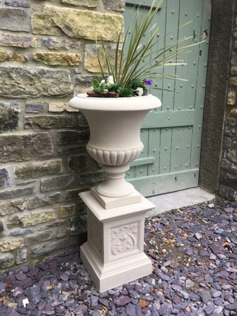 Templeton Urn on French Pedestal