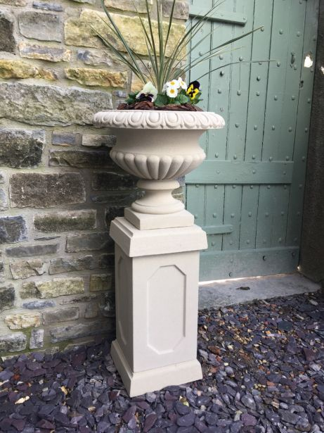 Florentine Urn on Abbey Pedestal