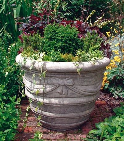Large Draped Planter