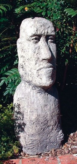 Large Moai Head