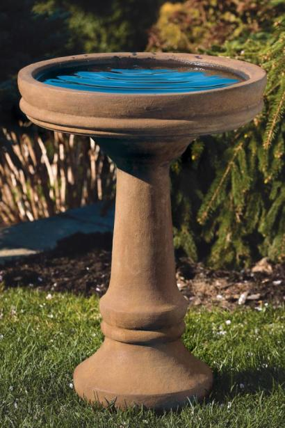 Plain & Simple Bird Bath