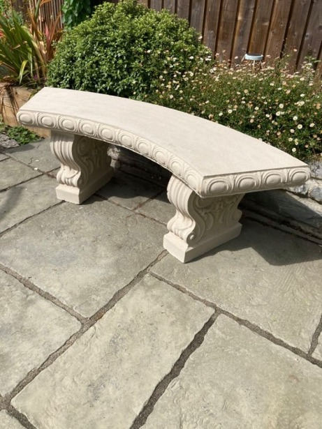 Barlake Curved Bench
