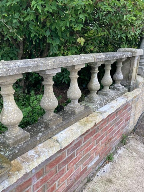 Reclaimed Abbey Balustrade