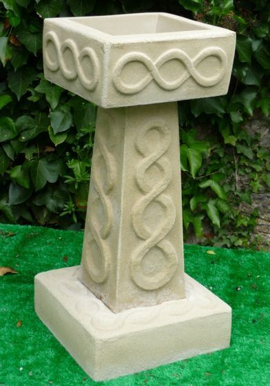 Celtic Bird Bath