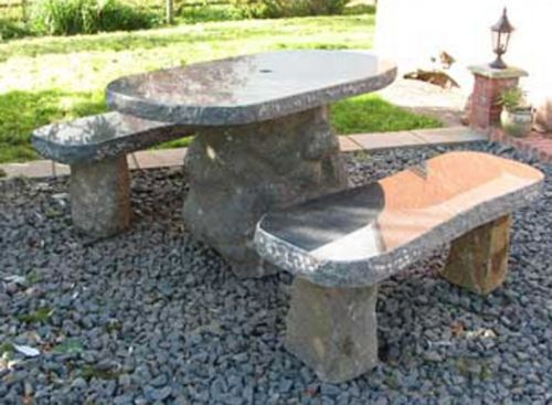 Boulder Table Set