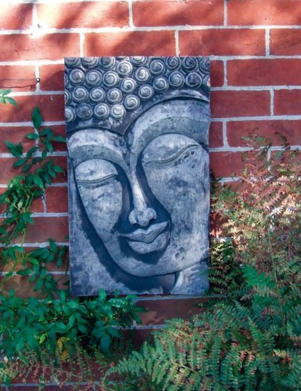 Buddha Relief Wall Plaque