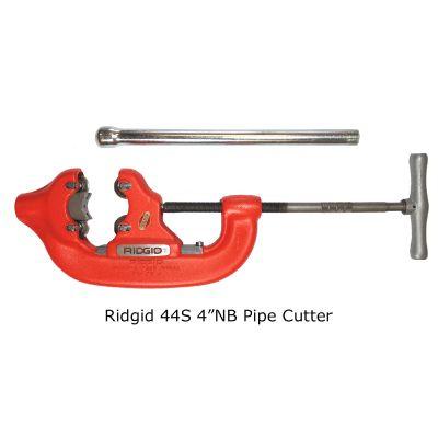 "Ridgid 44S 4""NB Pipe Cutter"