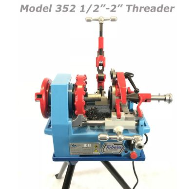 "CBC Model 352 1/2""-2"" Threader"
