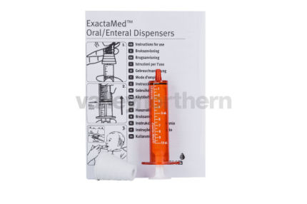 Oral Syringes Amber  - 10ml - with bung & instruction leaflet