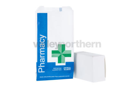 ProPac® NHS Counter Bags - (h) 140 x (w) 80 x (g) 50mm