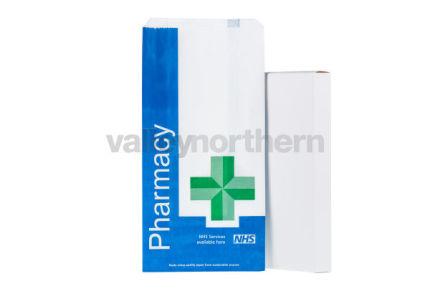 ProPac® NHS Counter Bags - (h) 250 x (w) 120 x (g) 50mm