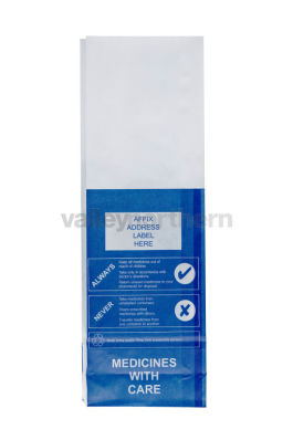 ProPac® Prescription Bags - Non NHS - (h)280 x (w)90 x (g)50mm