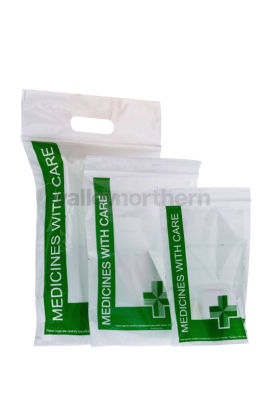 ProPac® Medicines With Care Bags - (h)229 x (w)152 x (g)76mm