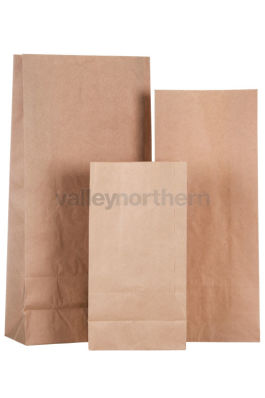 ProPac® Brown Paper Bags - (h)560 x (w)258 x (g)128mm