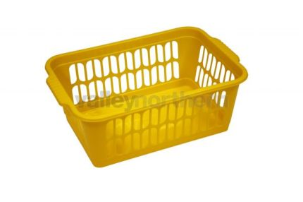 Plastic Baskets Medium - Yellow