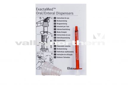 Oral Syringes Amber - 1ml - with bung & instruction leaflet