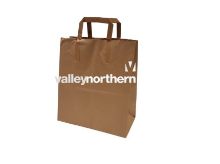 ProPac® Brown Kraft Bag - (h)300 x (w)250 x (g)135mm