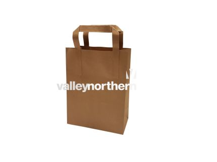 ProPac® Brown Kraft Bag - (h)225 x (w)175 x (g)90mm