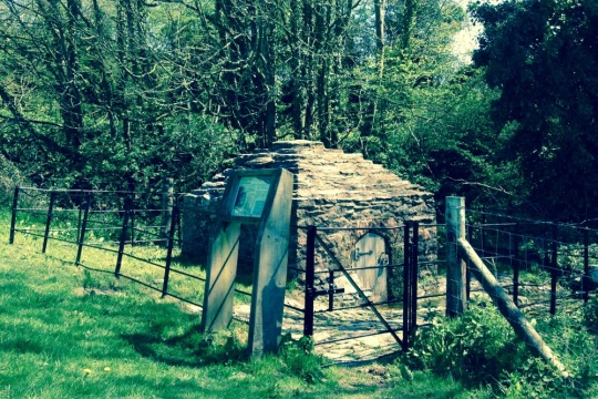 St. Agnes Well at Cothelstone in Quantock Hills, image supplied by South West Heritage Trust