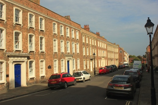 Castle Street in Bridgwater by Vicky Banham for Visit Somerset