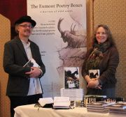 Poetry boxes launch chris louise