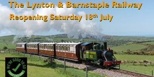 Come and experience the delights of an authentic Victorian steam train and enjoy stunning Exmoor scenery.