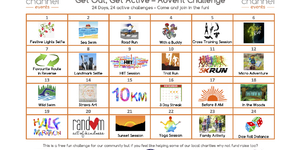 Get Out, Get Active - Advert Challenge from Channel Events!