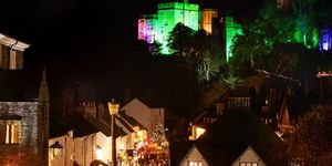 Christmas lights, fayres and late night shopping in Exmoor