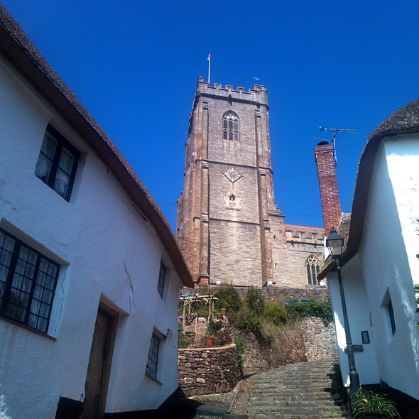 St Michael's Church and steps