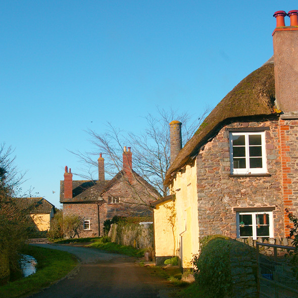 Bossington, near Porlock