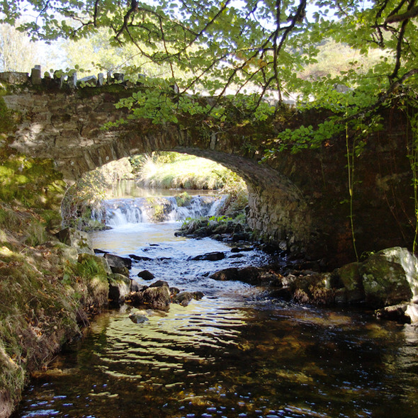 Robbers Bridge, near Doone Valley