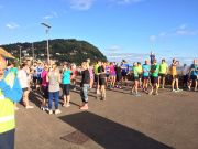 minehead parkrun crowd