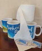 Minehead Bay mugs and loo roll