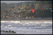 minehead beach windsurfer