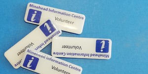 Volunteering at Minehead Information Centre Rocks !